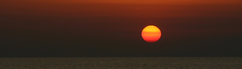Header307 Sonnenuntergang am Meer in Istrien